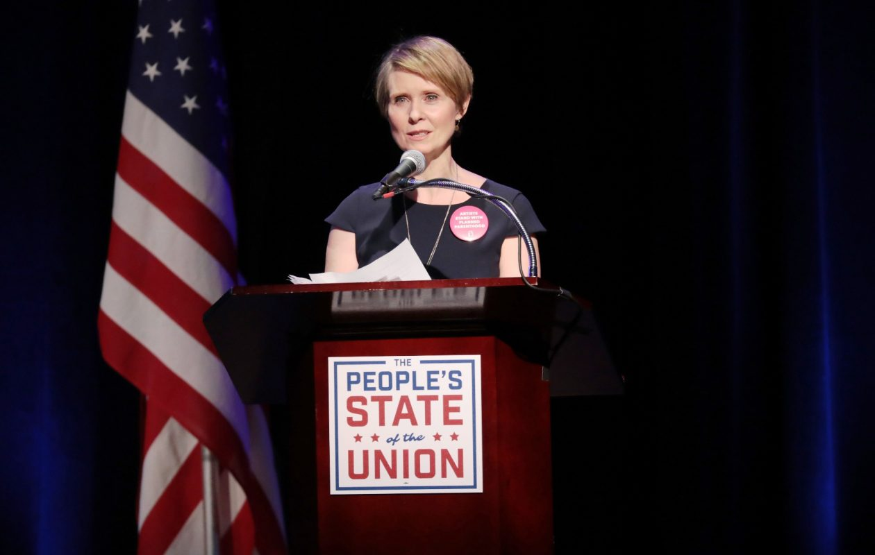Former 'Sex and the City' star Cynthia Nixon, who has ties in the left wing of the Democratic Party as well as to the small but influential Working Families Party, has been mulling a run against Gov. Andrew M. Cuomo for several months. (Getty Images)