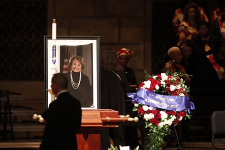 Rep. Louise M. Slaughter served in Congress for more than 30 years. She died on March 16, 2018. She was 88. Her funeral was held at 11 a.m. March 23 at the Eastman Theatre's Kodak Hall in Rochester, N.Y.