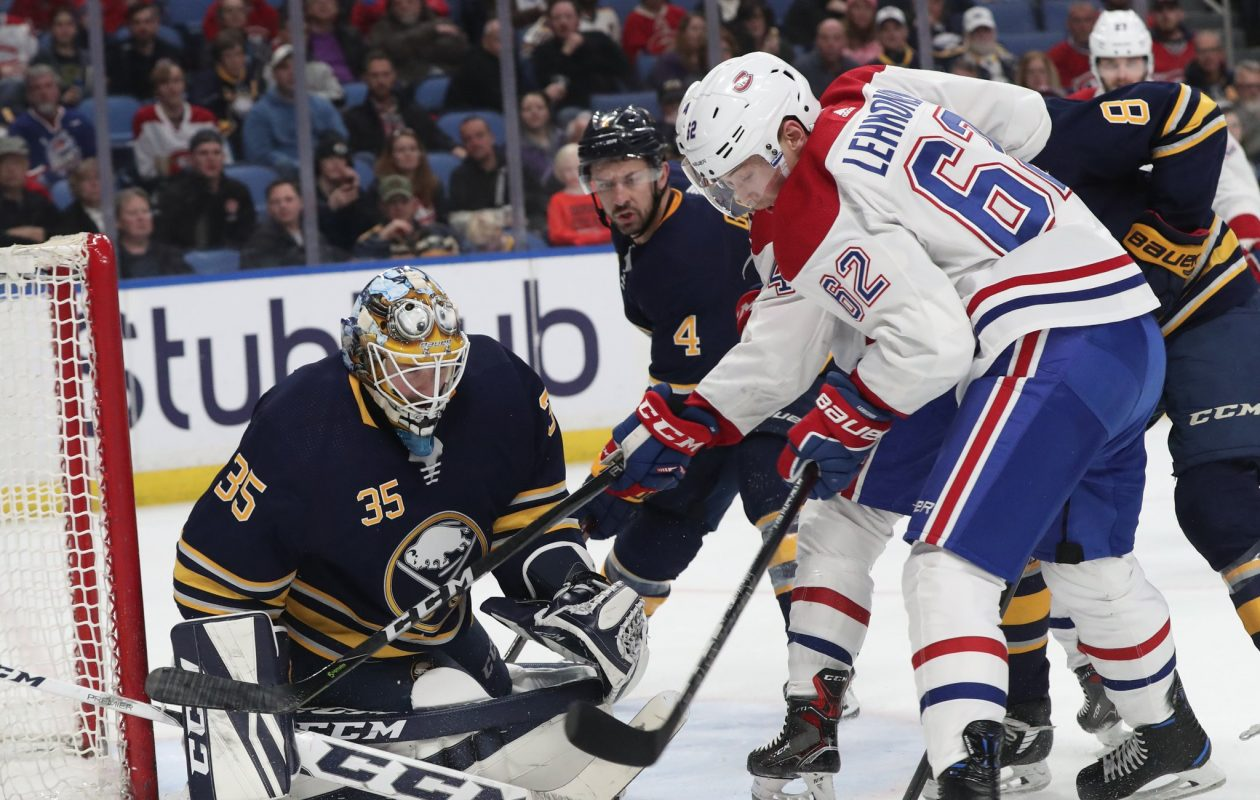 Buffalo goaltender Linus Ullmark needed to be perfect for the second straight game to even reach overtime. (James P. McCoy/Buffalo News)