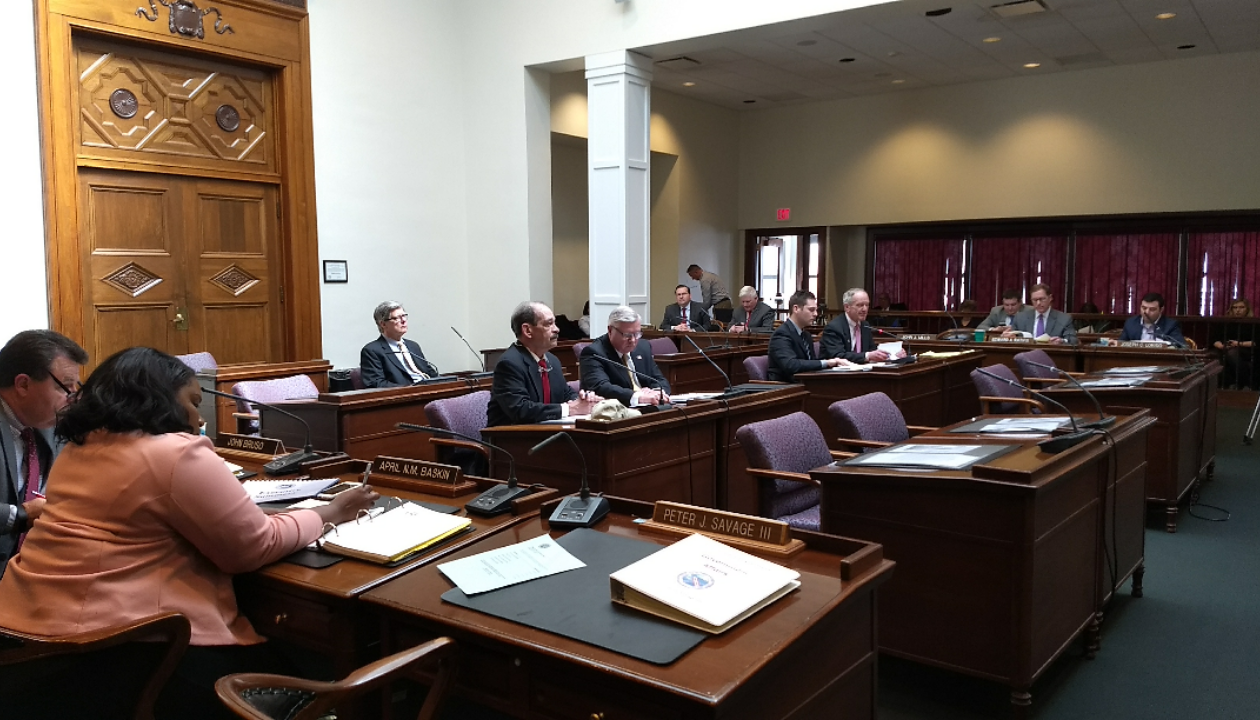 Commissioners of the Erie County Water Authority told county legislators on Monday that the authority was running fine, despite evidence to the contrary. (Sandra Tan/Buffalo News)