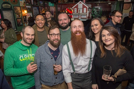 The Essex St. Pub on the West Side hosted its ninth annual Beard Competition on Saturday, March 17, 2018, doling out awards for the Hibernator (untrimmed), as well as box, trim and mustache categories.
