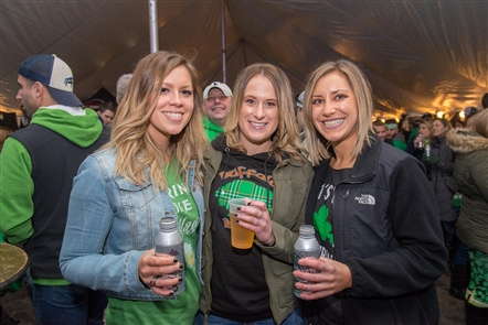 Ebenezer Ale House, one of the St. Patrick's Day hubs of the Southtowns, threw a serious outdoor party on Saturday, March 17, 2018, with live music, plenty of beer and much more.