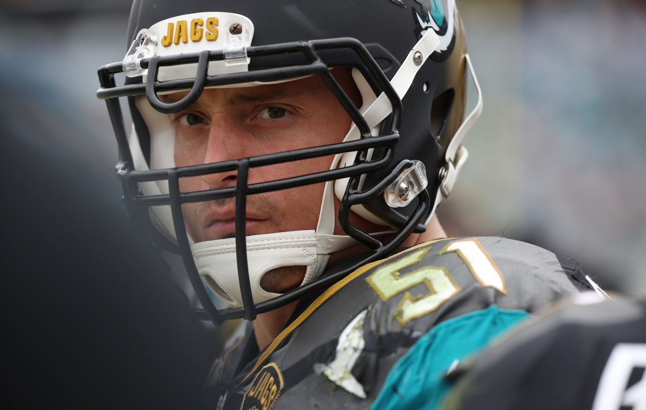 Paul Posluszny of the Jacksonville Jaguars  has announced his retirement (Logan Bowles/Getty Images)