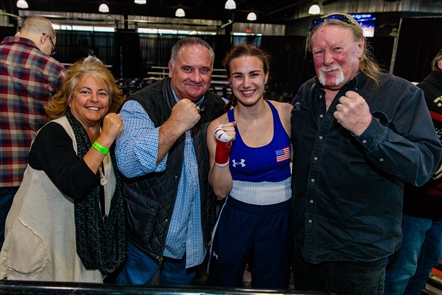 The New York State semifinals of Golden Gloves, the amateur boxing tournament, took place in Buffalo RiverWorks on Sunday, March 18, 2018. See some of the fans in attendance as well as the action.