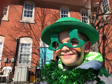 The cold weather didn't keep revelers away from the Old Neighborhood St. Patrick's Day Parade on Saturday, March 17, 2017. It's the 25th year for this Old First Ward parade.