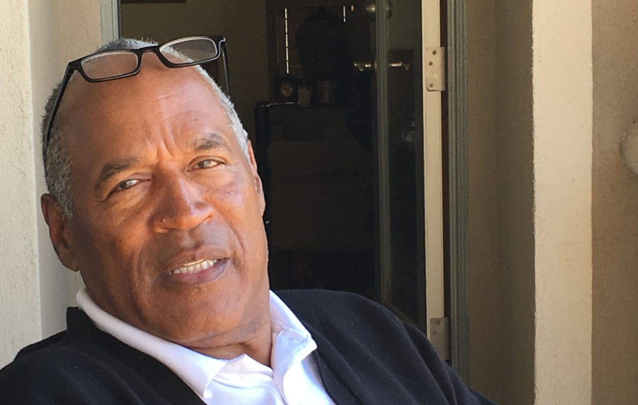 O.J. Simpson at his Las Vegas residence. (Tim Graham/Buffalo News)
