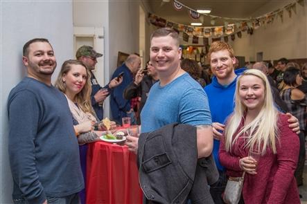 Smiles at Art of Beer at Niagara Arts and Cultural Center