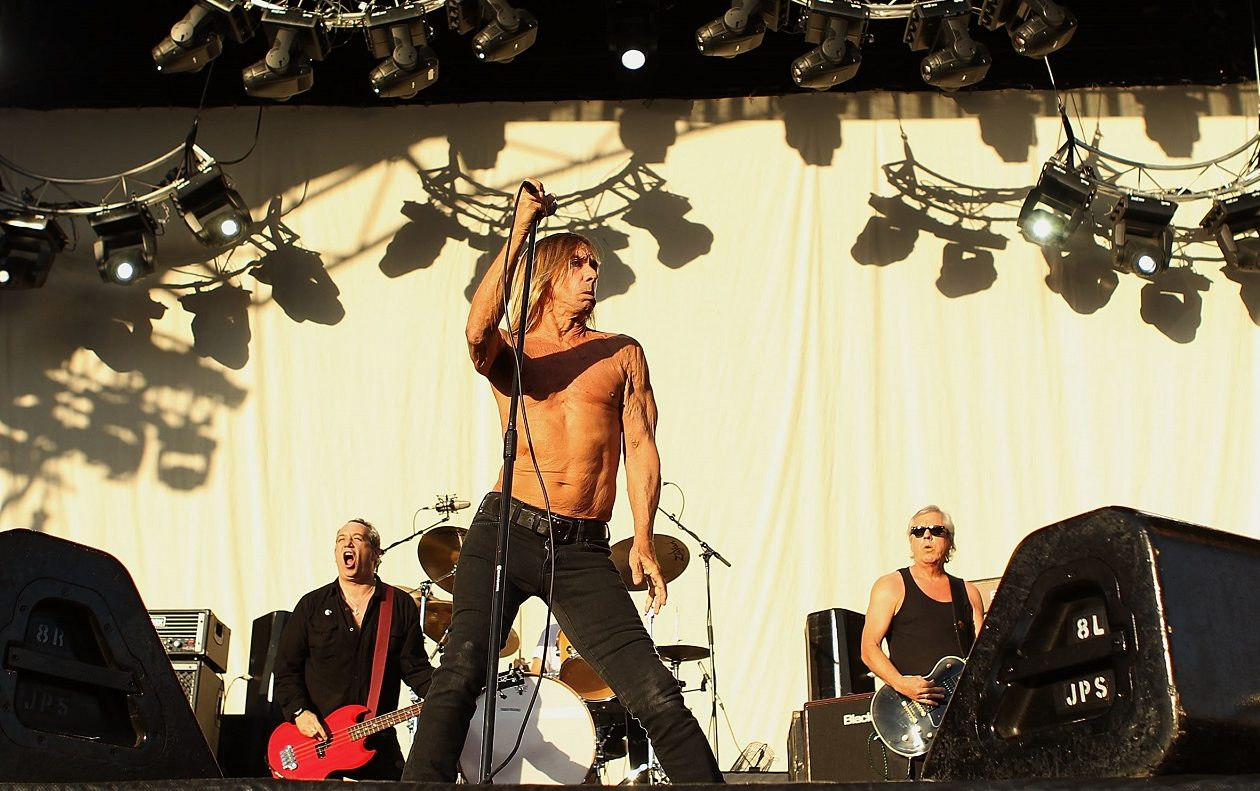 Iggy Pop. As a lyricist, he knows how to cut to the chase.  (Photo by Mark Metcalfe/Getty Images)