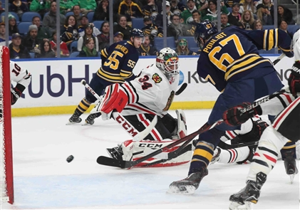 Buffalo Sabres 5, Chicago Blackhawks 3