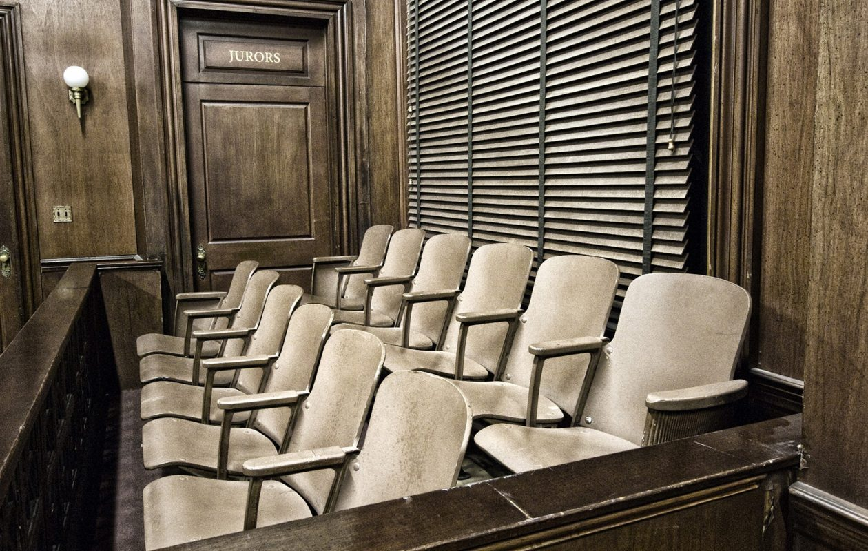 State figures show that in all but two counties in the state, the percentage of black prospective jurors is less than the percentage of the local black population. (Deposit photo)