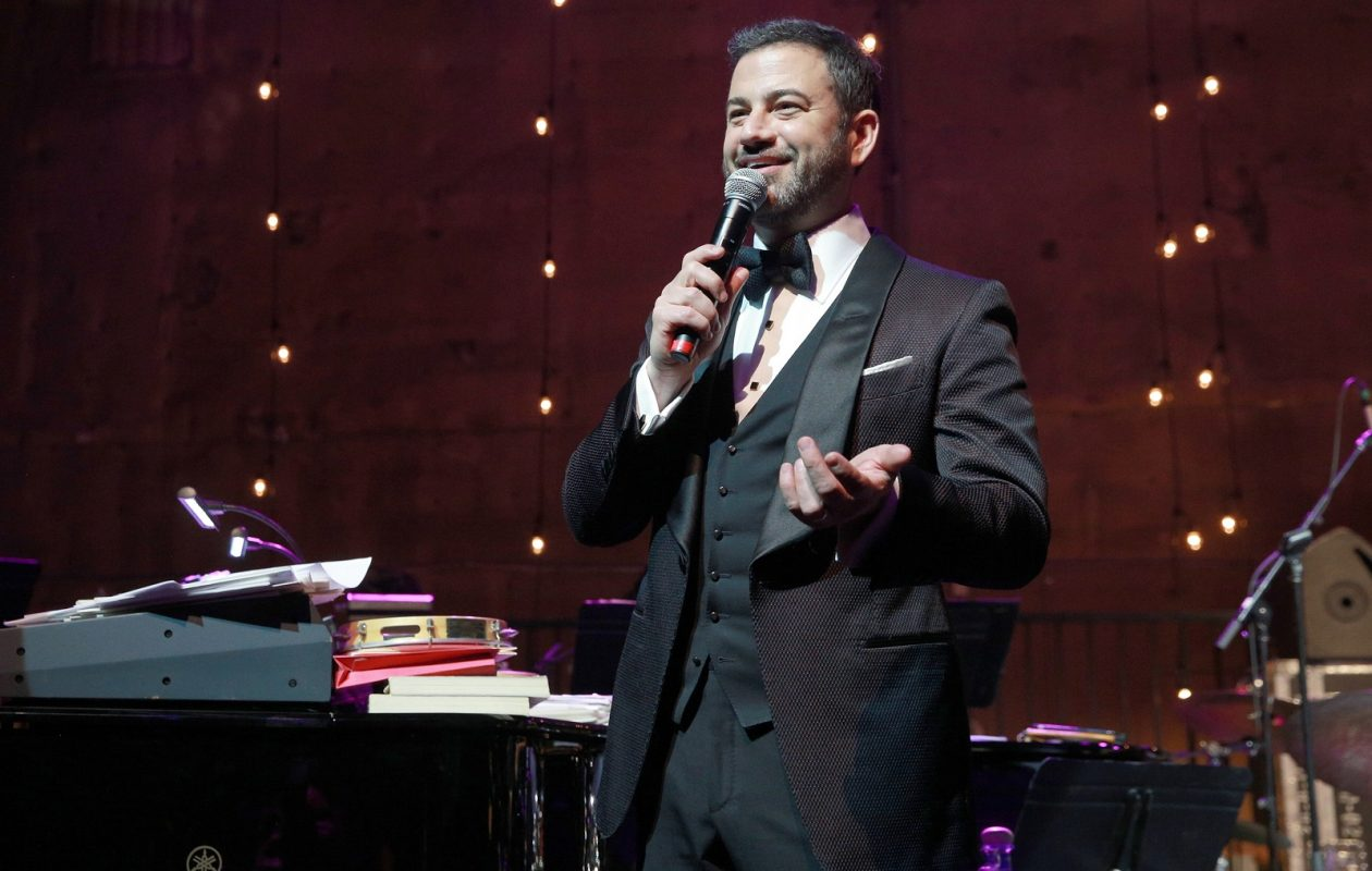 For Alan Pergament, Jimmy Kimmel was the highlight of a predictable Oscars. (Rich Fury/Getty Images for Jimmy Kimmel)