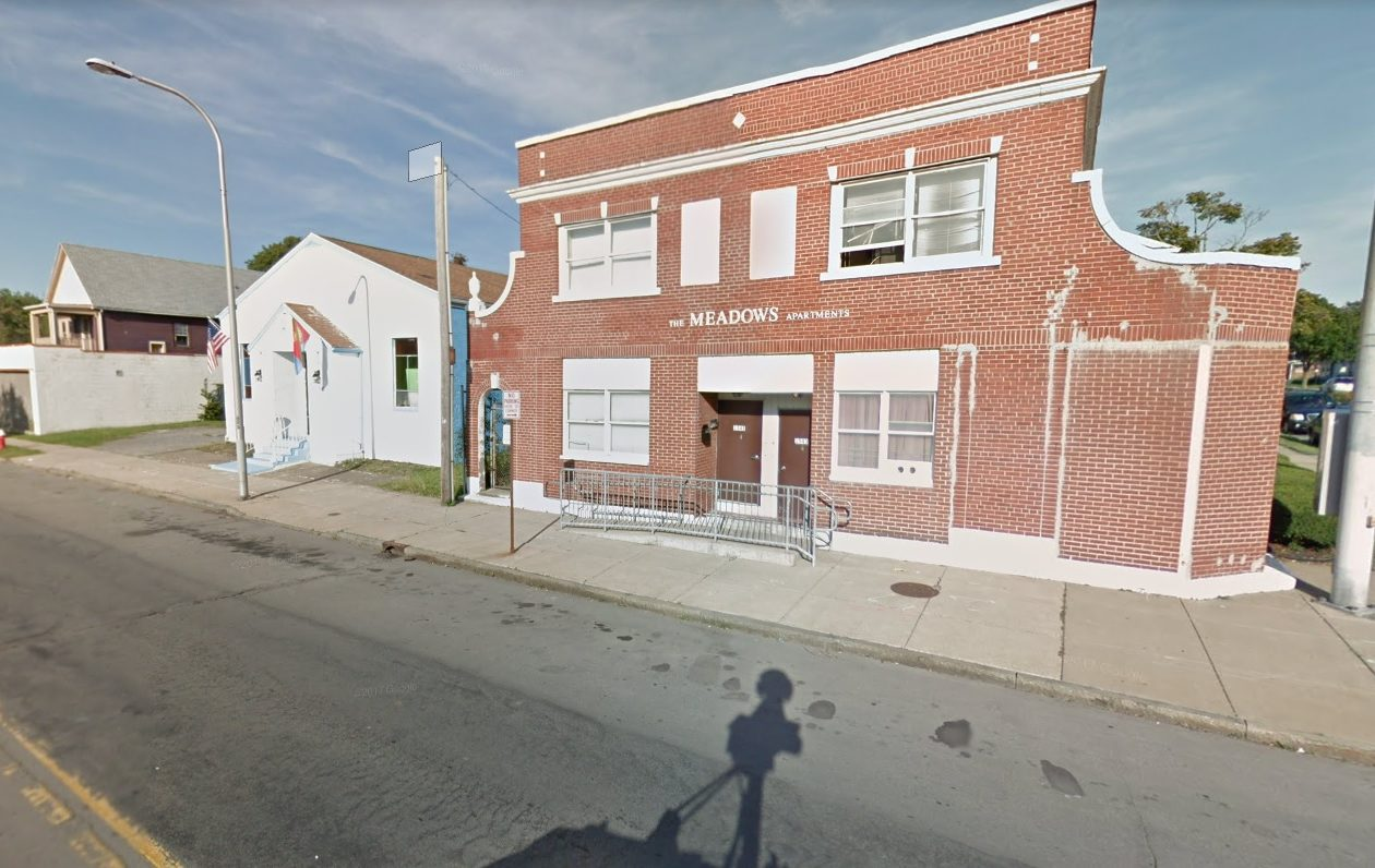 Moshe Rothman bought the Meadows Apartments in the Hamlin Park neighborhood of Buffalo. (Google Maps)