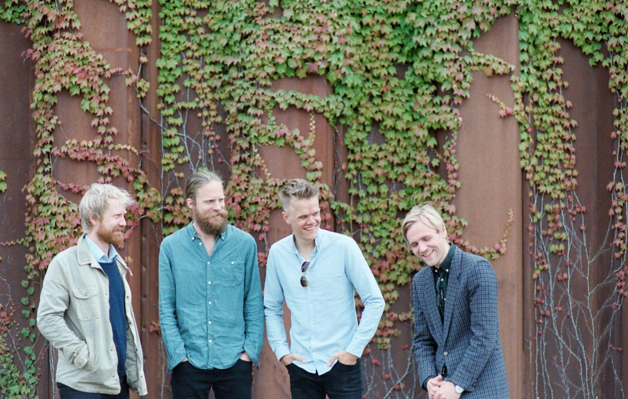 The Danish String Quartet. Photo by Caroline Bittencourt.
