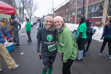 Smiles at Shamrock Run 2018 in Old First Ward