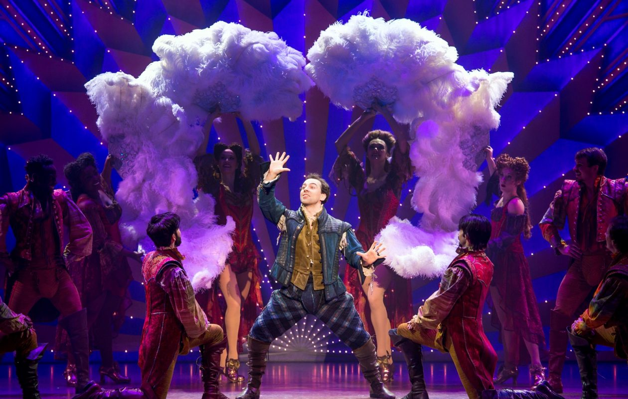 Rob McClure stars in 'Something Rotten!' an entertaining musical now on stage at Shea's Performing Arts Center.
