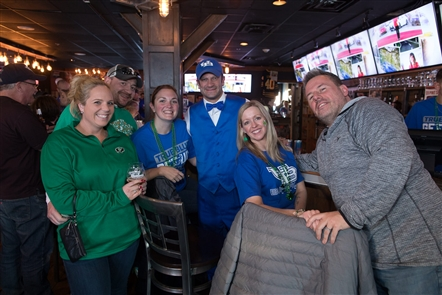 Smiles at UB Bulls watch parties at Elmo's, Santora's