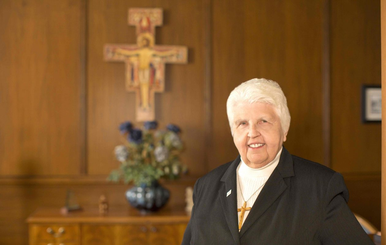 Sister Marcella Marie Garus will retire as president of Villa Maria College in June.