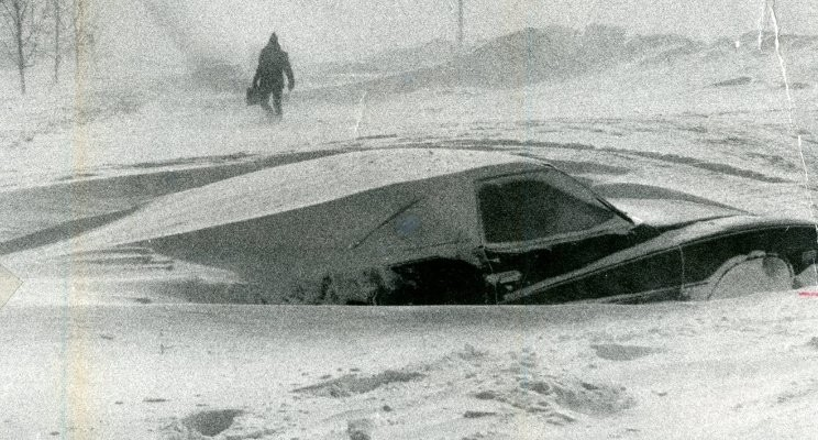 The great blizzard of 1977 in Buffalo: Is an epic snowfall record on the ropes? (The Buffalo News/file art)