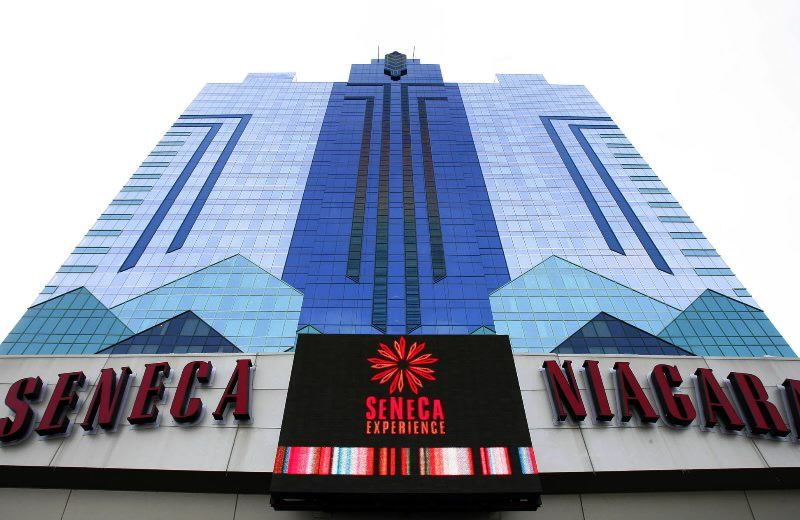 The Seneca Nation says  the new del Lago casino had originally projected to cannibalize gambling revenues from Seneca casinos in Western New York, including the Seneca Niagara Casino, above., and casinos owned in central New York by the Oneida Nation. (News file photo)