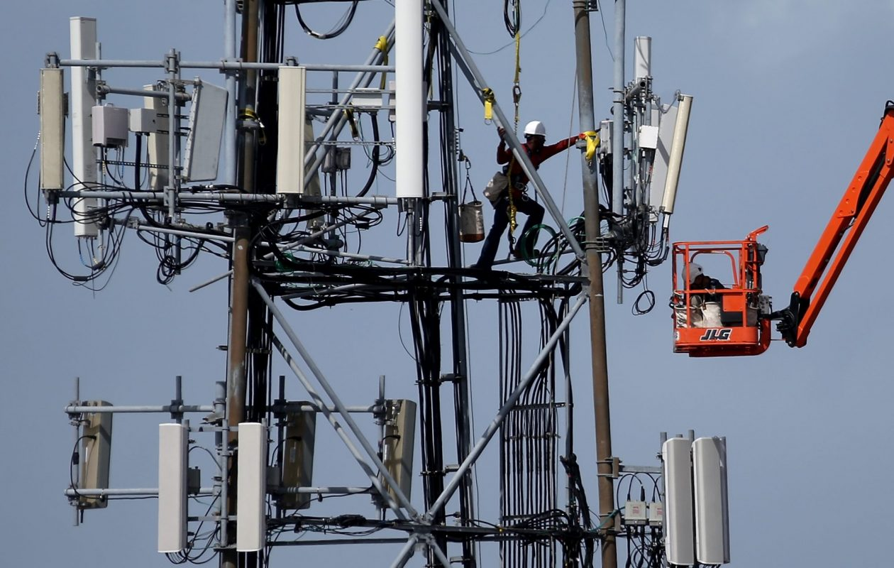The debate over how to regulate the future of wireless infrastructure is playing out locally and across the country. (Justin Sullivan/Getty Images)