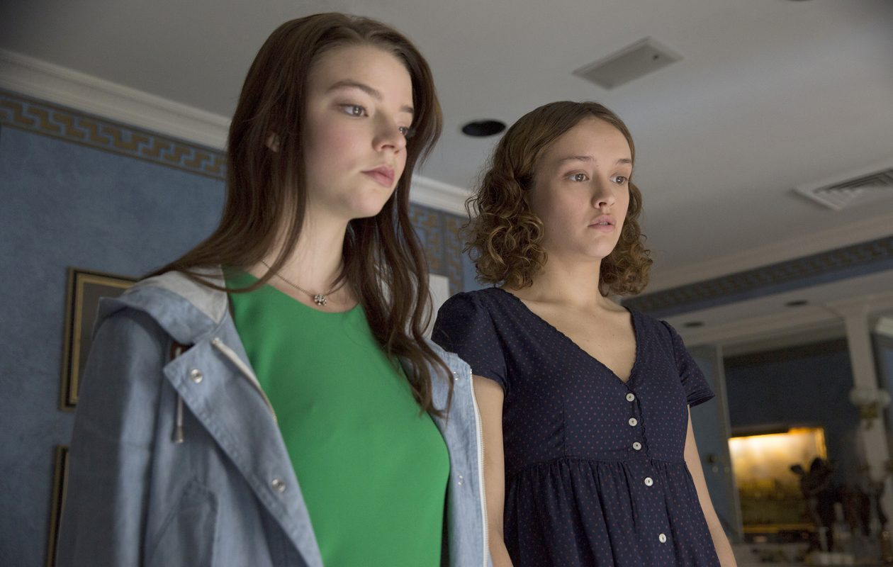 Anya Taylor-Joy, left, is Lily and Olivia Cooke plays Amanda in the new film 'Thoroughbreds.' (Claire Folger, Focus Features)