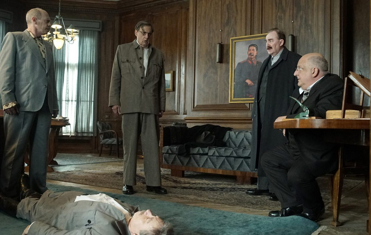 The new film 'The Death of Stalin' takes a darkly comical approach to historical events. (Nicola Dove, IFC Film)