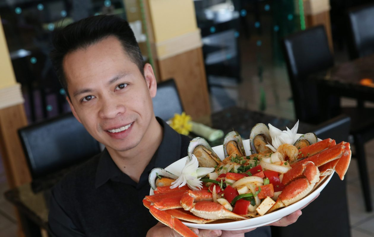 Michael Nguyen, owner of Pho Lantern, is an owner of Waves.  (Sharon Cantillon/Buffalo News)