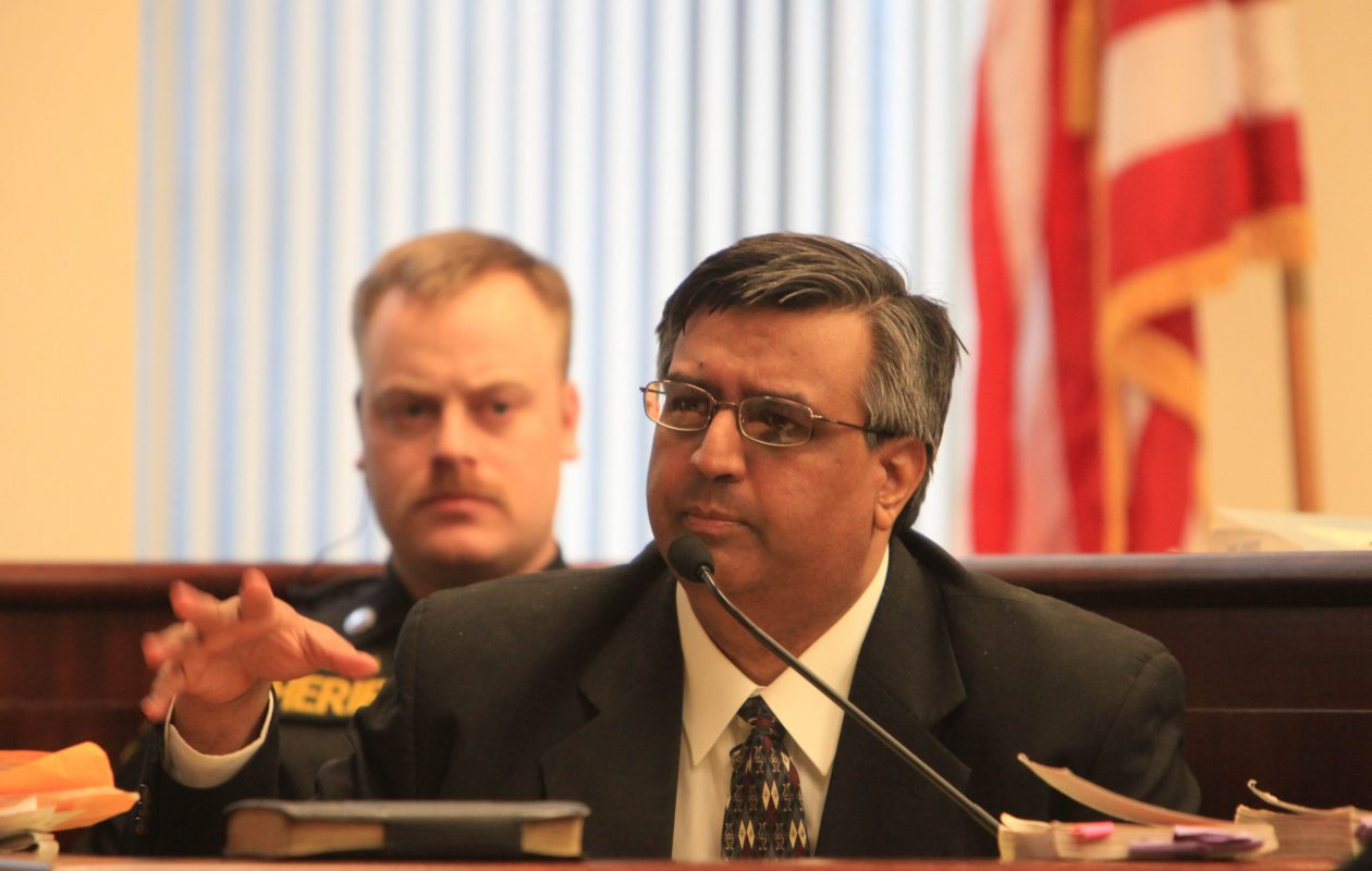 Muzzammil 'Mo' Hassan took the stand in his own defense during his 2011 murder trial. He appealed his conviction. (File photo by Sharon Cantillon / Buffalo News)