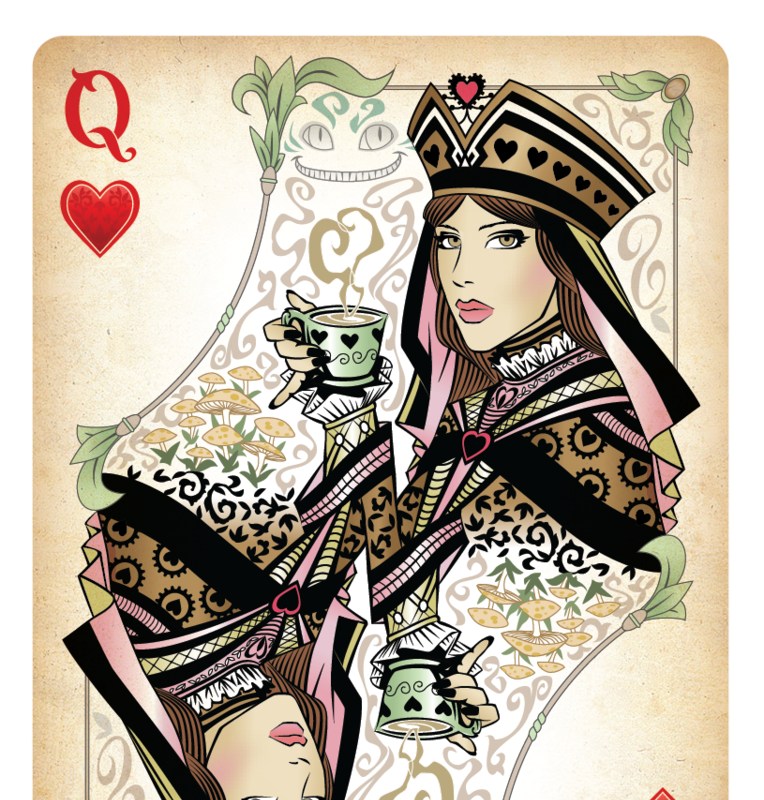 Queen of Hearts by Sketch2Draw