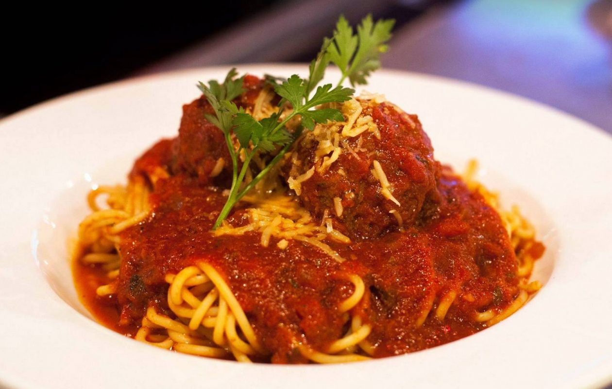 Tappo's spaghetti and meatballs are free one day next week. (Photo courtesy of Tappo)