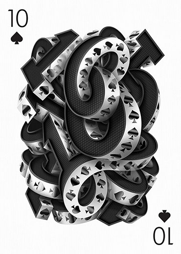Ten of Spades by Marcelo Schultz