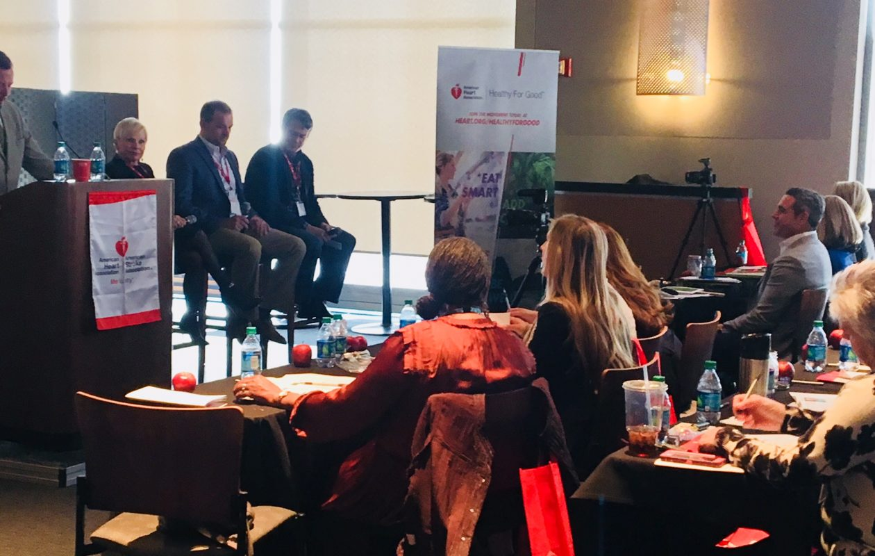 This week's second annual Workplace Wellness Summit included a panel discussion on the importance of leadership buy-in when it comes to creating a culture of health on the job. Panelists came with data to back up their points. (Scott Scanlon/Buffalo News)
