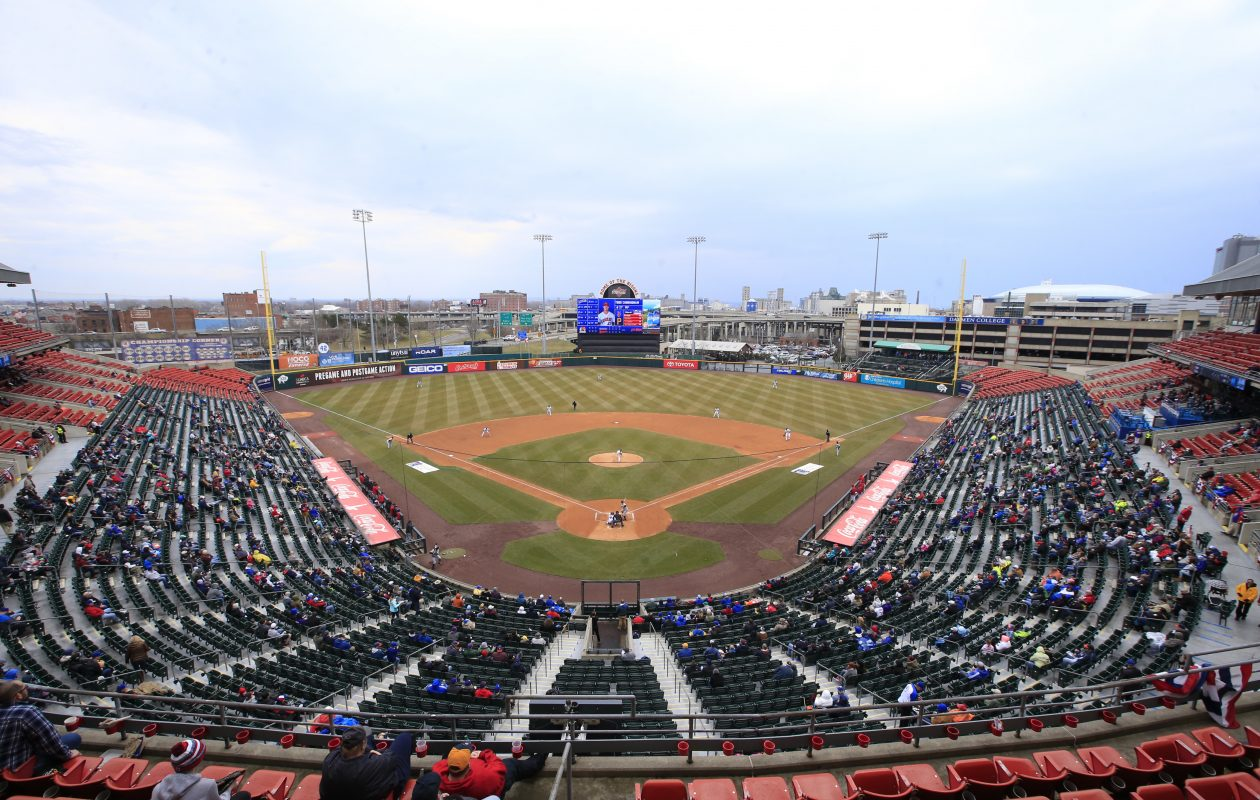 Buffalo Bisons are looking for some baseball weather at Coca-Cola Field. (Harry Scull Jr./Buffalo News)