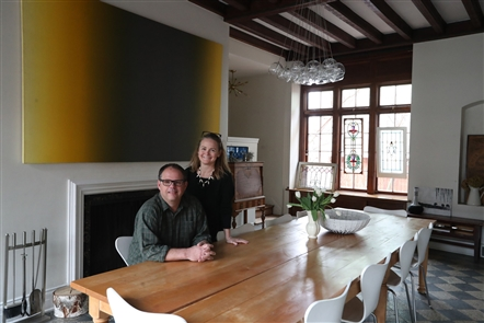 Erin St. John Kelly and Charlie von Simson moved from Brooklyn to Buffalo with their two daughters in 2010 and bought a house in the Linwood Preservation District.