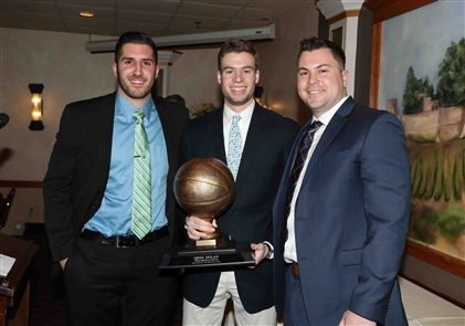 More than 250 were on hand for the seventh annual Buffalo News/BCANY Awards banquet for boys basketball. The event, supported by UNYTS and ADPRO Sports, honored the best of the 2017-18 season at Ilio DiPaolo's Restaurant in Blasdell.
