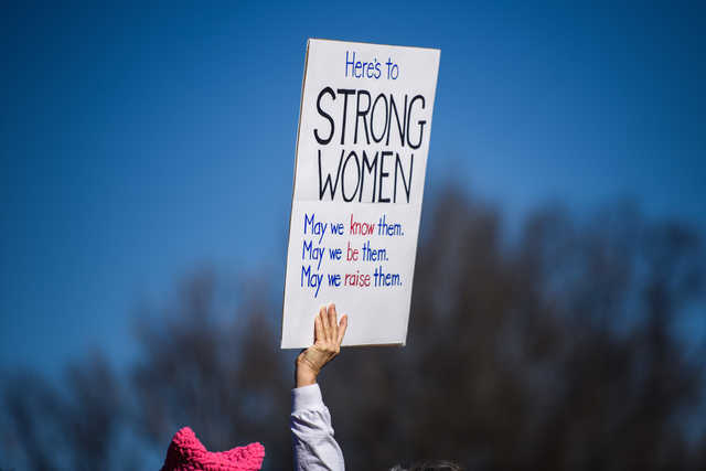 Women are running for political office in record numbers this year. It's a good sign for New York and for the country. (Washington Post photo by Salwan Georges)