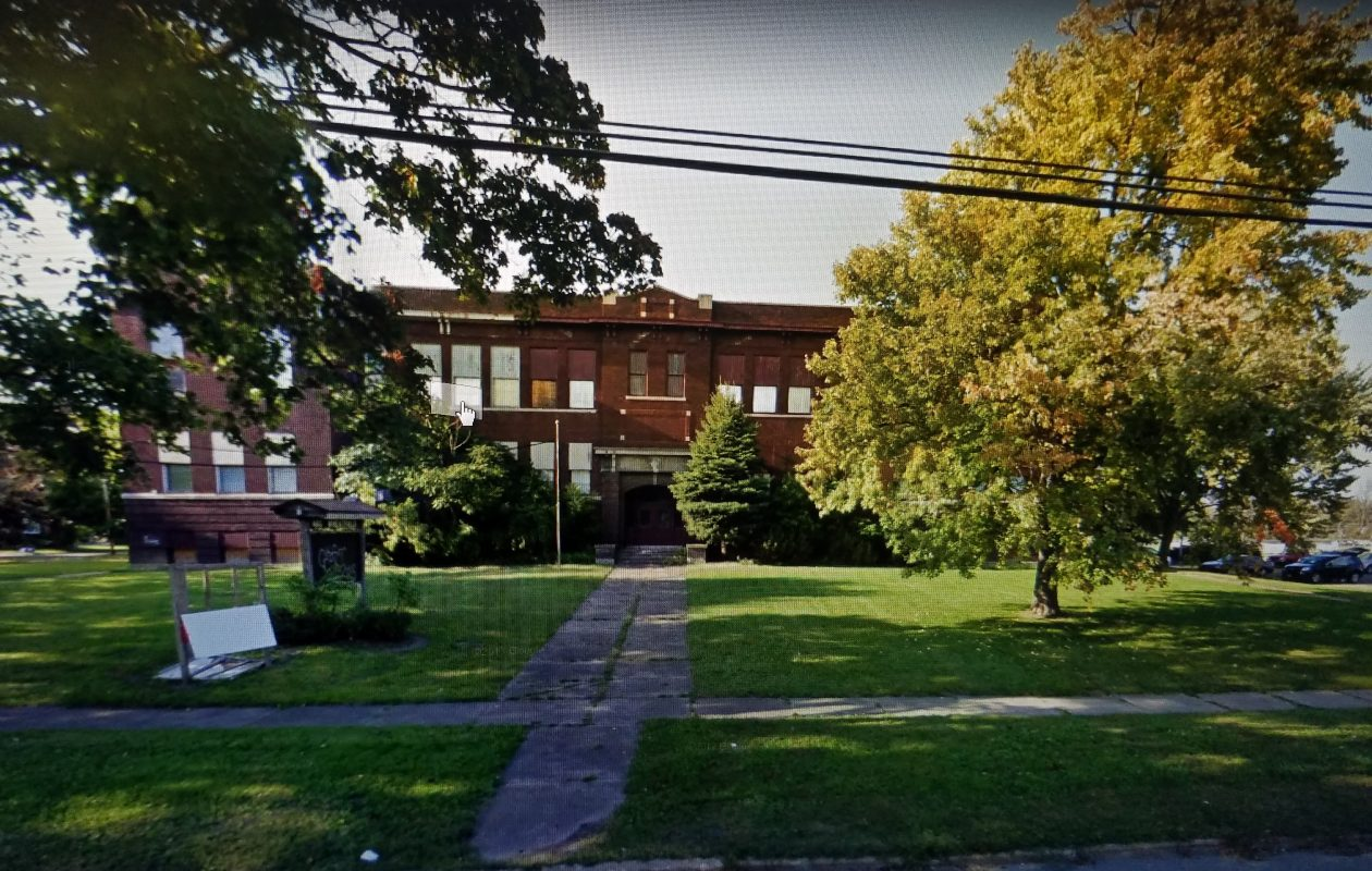 The former Col. Payne Elementary School, also known as the Col. Payne Community Center, in North Tonawanda. (Google Maps Street View)