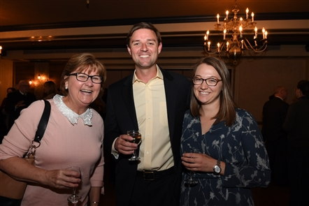 Hamburg Chamber of Commerce's annual Member Recognition Dinner was held at Brierwood Country Club on Thursday, April 19, 2018, with emcee John Tebeau, publisher of Business First and Buffalo Law Journal.