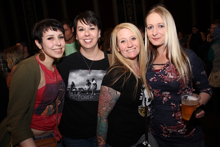 Alternative rock band Blue October, which has persevered for more than 20 years, played on Wednesday, April 25, 2018, in Rapids Theatre. See the fans in Niagara Falls, plus shots of Flagship and Blue October.