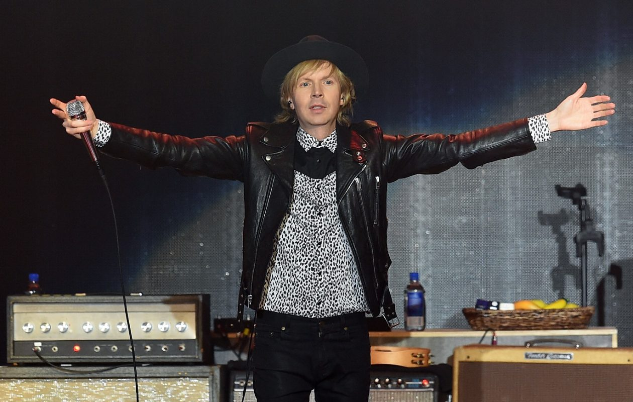 Beck will headline 'Rockin' @ the Knox' on July 16. This will be the multiple Grammy-winner's first headlining appearance in the area in 20 years.  (Photo by Getty Images)