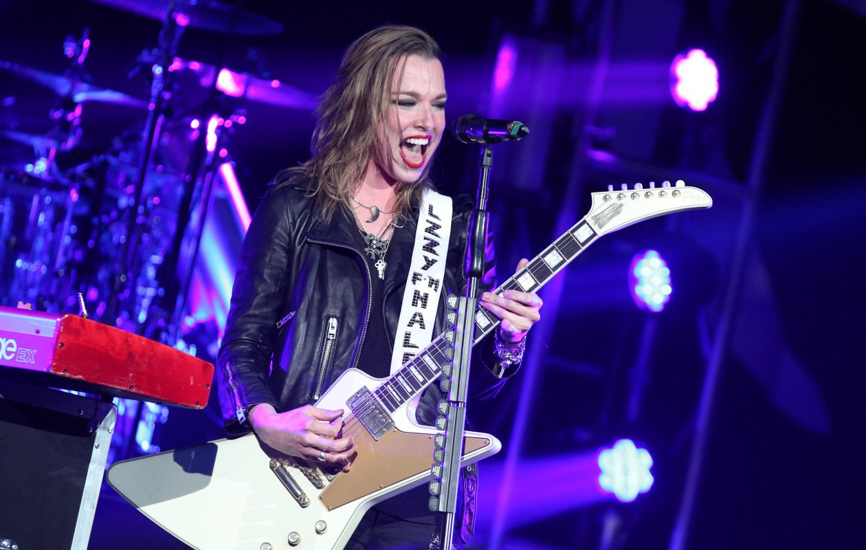 Singer and guitarist Lzzy Hale of Halestorm have been added to the Artpark schedule. (Photo by Terry Wyatt/Getty Images)