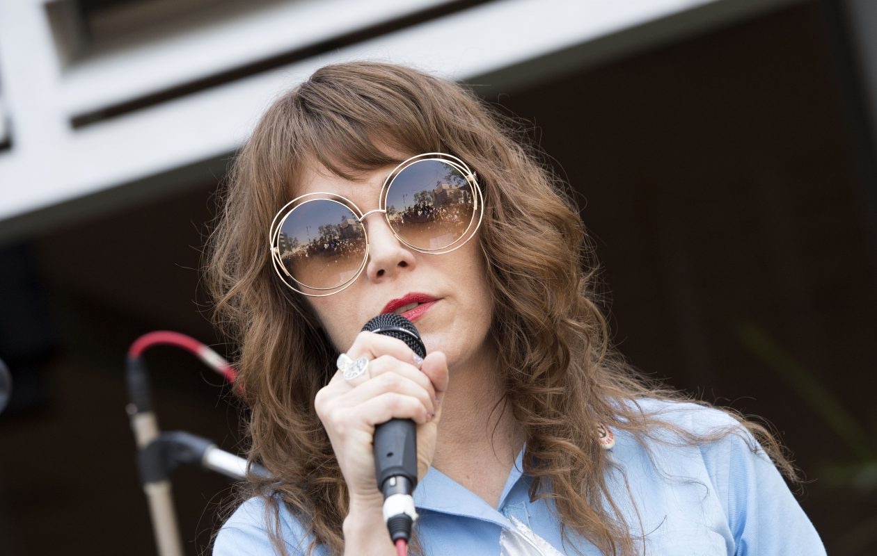 Singer Jenny Lewis will perform in Asbury Hall at Babeville. (Valerie Macon/AFP/Getty Images)