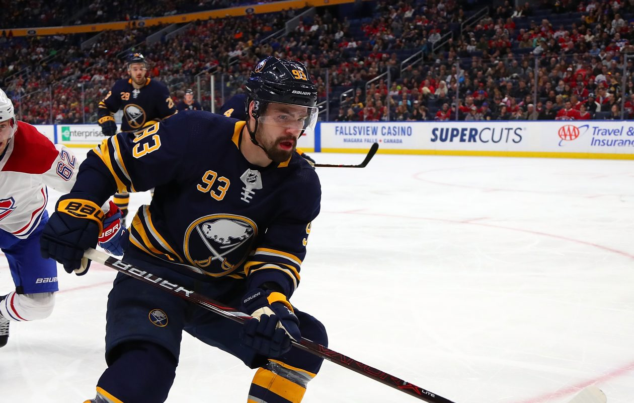 Victor Antipin signed a one-year contract with the Sabres last spring. (Getty Images)