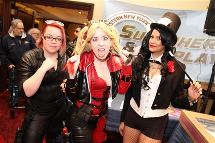 Comics, cosplay and special guests - the North Ridge Star Wars Fan Club - were the highlights of Buffalo Comicon, held Sunday, April 15, 2018, in the Buffalo Niagara Marriott. Queen City Bookstore is the annual presenter of the event.