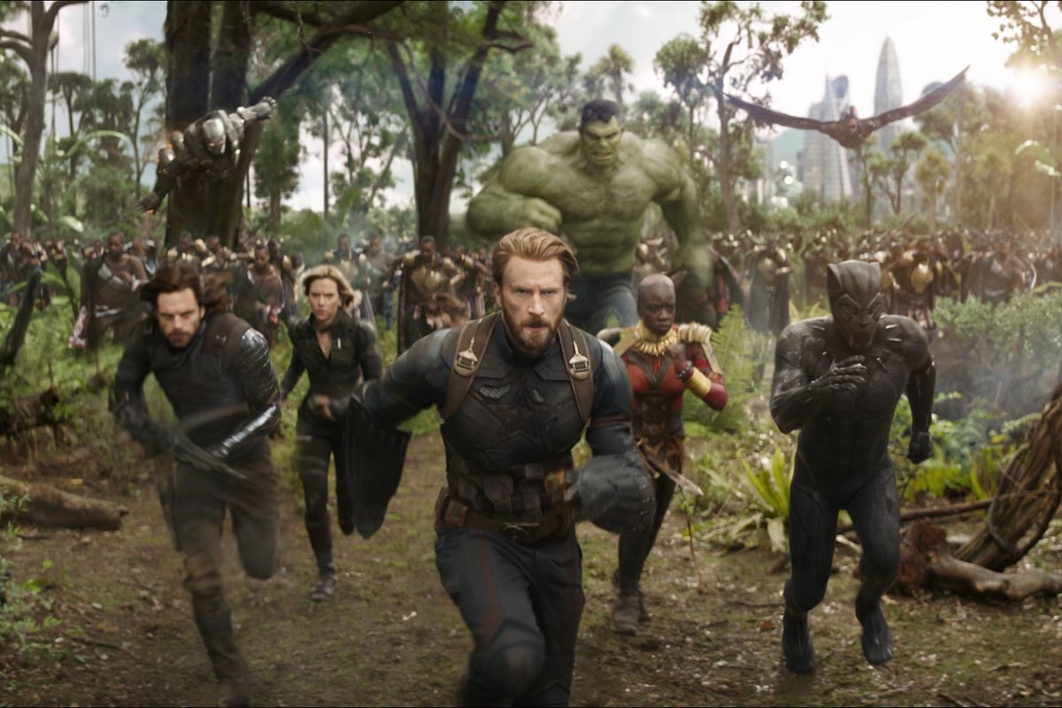 'Avengers: Infinity War' is probably too intense - and long - for the youngest kids in the family. (Marvel)