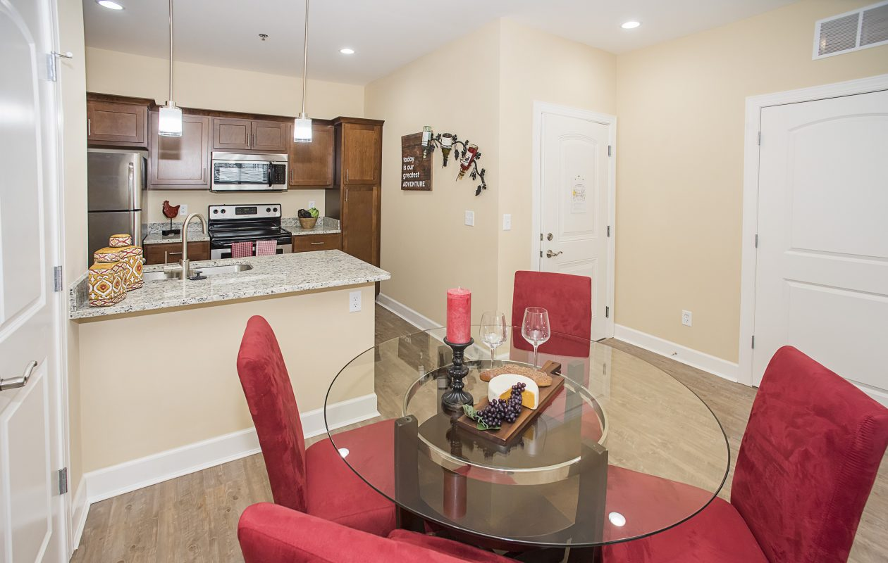 Clifton Heights in Hamburg features a variety of floor plans.