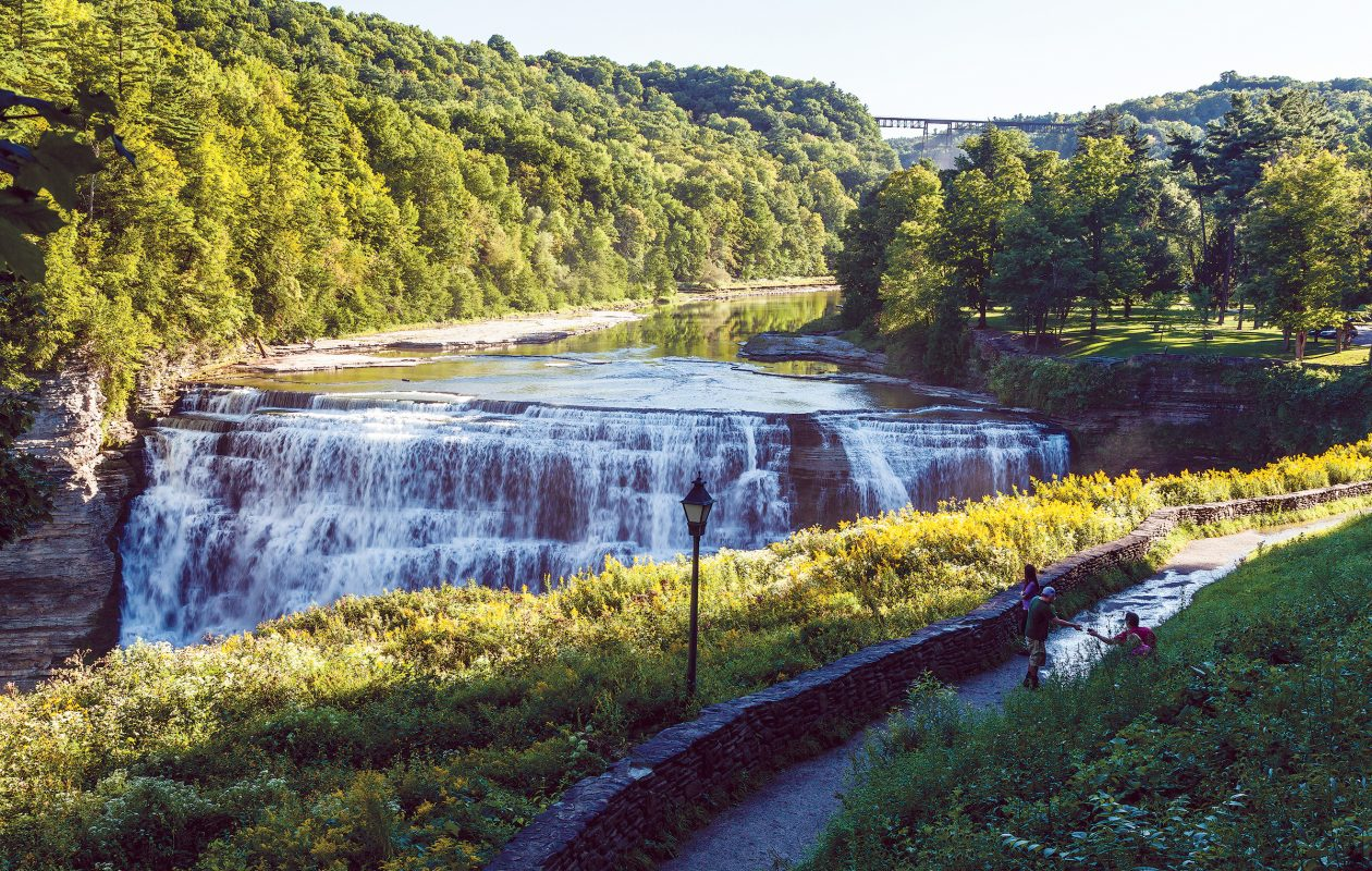Letchworth State Park has some of the most dramatic scenery in New York State.