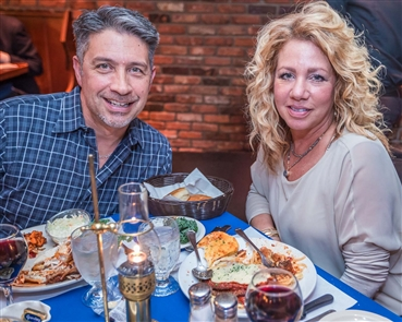 On the first night of Local Restaurant Week on Monday, April 16, 2018, people braved the snow to eat out at the Glen Park Tavern, Eagle House and Irishman Pub and Eatery in Williamsville.