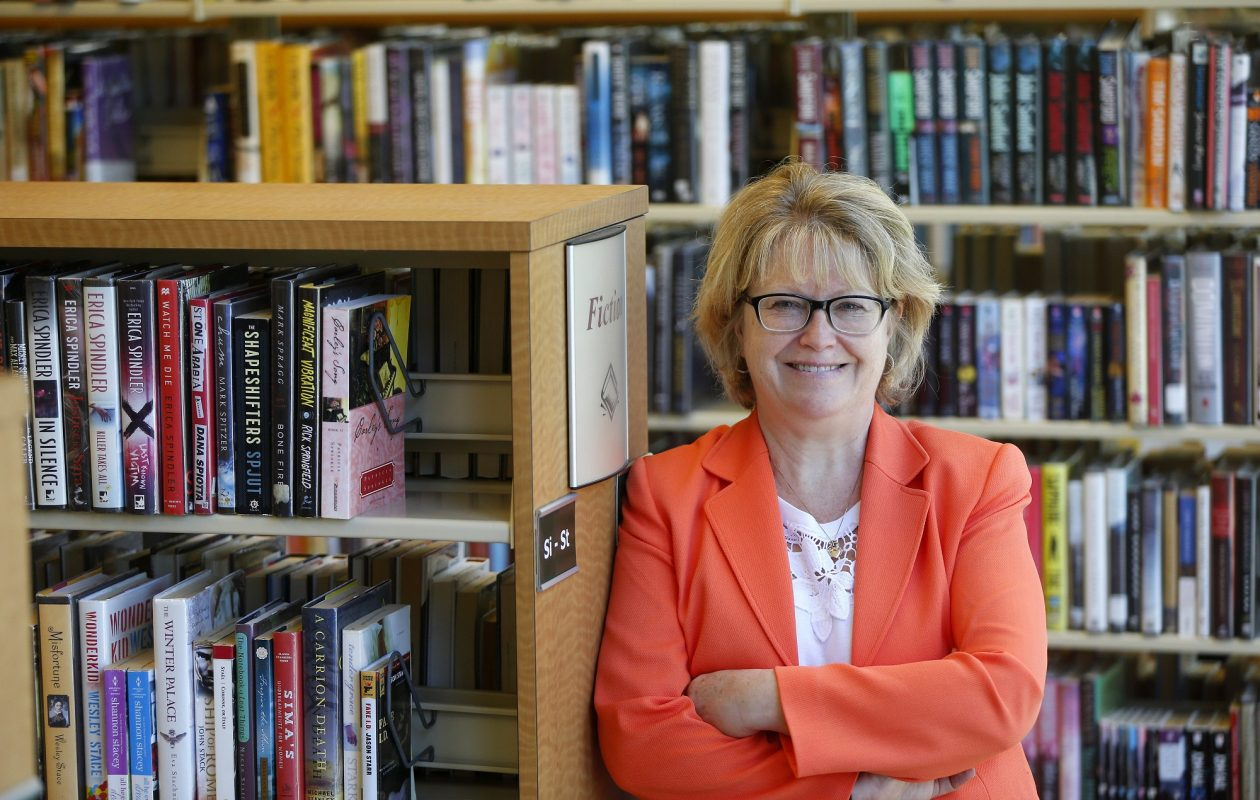 Buffalo & Erie County Public Library System Director Mary Jean Jakubowski says the system has health and wellness resources that library patrons can depend upon.  (Mark Mulville/News file photo)