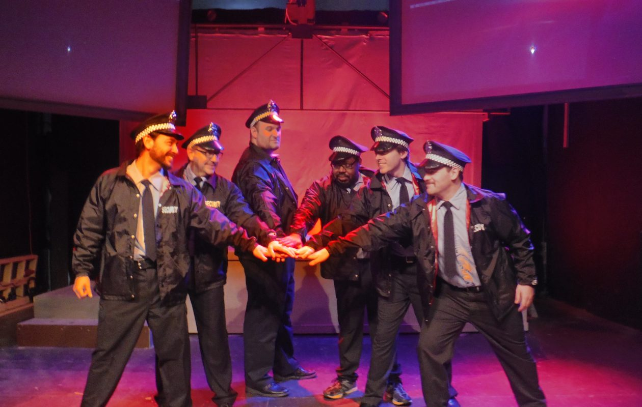 Subversive Theatre's production of 'The Full Monty' runs through May 12 in the Manny Fried Playhouse.